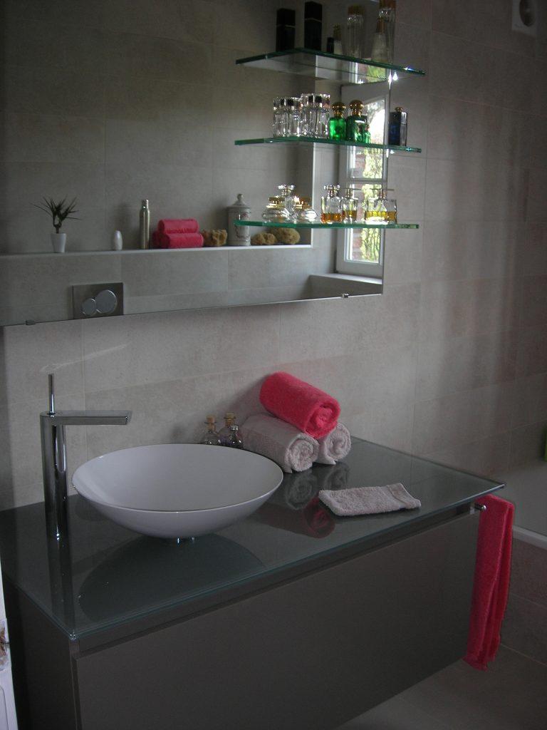 Aménagement de salle de bain